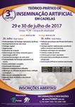 3º CURSO TEÓRICO-PRÁTICO DE INSEMINAÇÃO ARTIFICIAL EM CADELAS