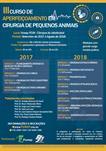 III CURSO DE APERFEIÇOAMENTO EM CIRURGIA DE PEQUENOS ANIMAIS