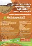 I CURSO TEÓRICO-PRÁTICO EM TECNOLOGIA DE APLICAÇÃO PARA A CANA-DE-AÇÚCAR  - USANDO MELHOR OS PULVERIZADORES