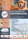 III ENCONTRO DE ENDOCRINOLOGIA EM PEQUENOS ANIMAIS