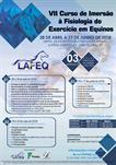 VII CURSO DE IMERSÃO À FISIOLOGIA DO EXERCÍCIO EM EQUINOS