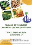 SIMPÓSIO DE TECNOLOGIA AMBIENTAL E DE BIOCOMBUSTÍVEIS