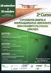 2º CURSO DE TOPOGRAFIA DIGITAL E MAPEAMENTO POR AERONAVES REMOTAMENTE PILOTADAS (DRONES)