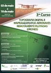 3º CURSO DE TOPOGRAFIA DIGITAL E MAPEAMENTO POR AERONAVES REMOTAMENTE PILOTADAS (DRONES)