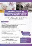 5º CURSO DE OBSTETRÍCIA E REPRODUÇÃO APLICADA À PRÁTICA  CLÍNICA EM PEQUENOS ANIMAIS