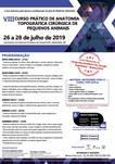 VIII CURSO PRÁTICO DE ANATOMIA TOPOGRÁFICA CIRÚRGICA DE PEQUENOS ANIMAIS