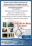 XXXIII CURSO TEÓRICO-PRÁTICO DE BIOTECNOLOGIA DO SÊMEN EQUINO