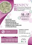 III ENCONTRO NACIONAL DE PATOLOGIA CLÍNICA VETERINÁRIA - ENPCV 2019