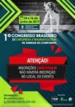 1º CONGRESSO BRASILEIRO DE ORTOPEDIA E TRAUMATOLOGIA EM ANIMAIS DE COMPANHIA