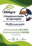 V SGAgro - V SIMPÓSIO EM GESTÃO DO AGRONEGÓCIO