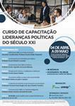 CURSO DE CAPACITAÇÃO LIDERANÇAS POLÍTICAS DO SÉCULO XXI