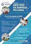 """CURSO DE GESTÃO DA EMPRESA PECUÁRIA - """"PRINCÍPIOS PARA UMA EXPLORAÇÃO LUCRATIVA"""""""