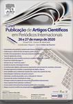 CURSO DE PUBLICAÇÃO DE ARTIGOS CIENTÍFICOS EM PERIÓDICOS INTERNACIONAIS