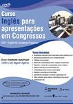 INGLÊS PARA APRESENTAÇÃO EM CONGRESSOS