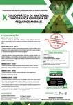 X CURSO PRÁTICO DE ANATOMIA TOPOGRÁFICA CIRÚRGICA DE PEQUENOS ANIMAIS