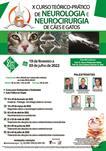 X CURSO TEÓRICO-PRÁTICO DE NEUROLOGIA E NEUROCIRURGIA DE CÃES E GATOS