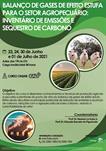 CURSO ONLINE - BALANÇO DE GASES DE EFEITO ESTUFA PARA O SETOR AGROPECUÁRIO: INVENTÁRIO DE EMISSÕES E SEQUESTRO DE CARBONO