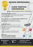 CURSO TEMÁTICO UNIVERSIDADE – EMPRESA: DESENVOLVIMENTO PESSOAL E EMPRESARIAL